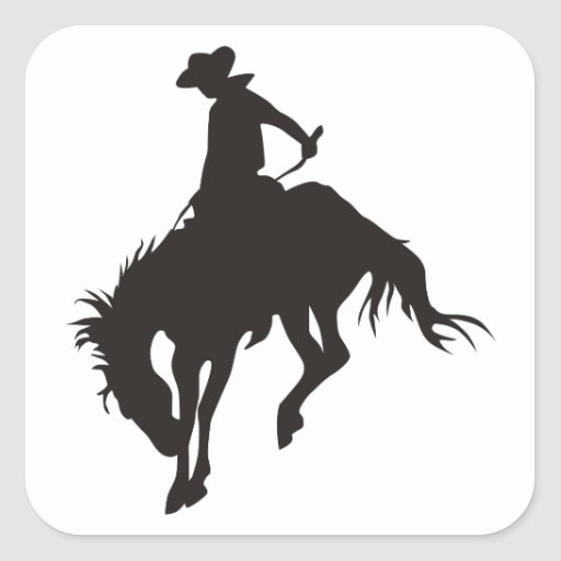 Rodeo Cowboy Stickers