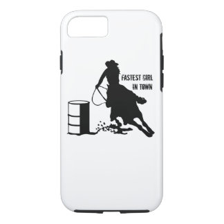 Rodeo Cowgirl Barrel Racer iPhone 7 Case