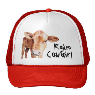Rodeo Cowgirl or Cowboy Trucker Hat