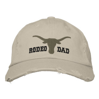 Rodeo Dad Embroidered Hat