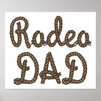 Rodeo Dad Print