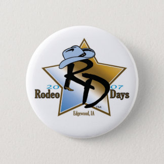 Rodeo Days 2007 Button