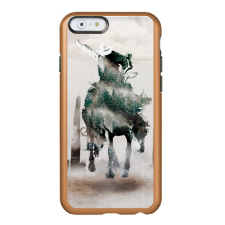 Rodeo - double exposure  - cowboy - rodeo cowboy incipio feather® shine iPhone 6 case
