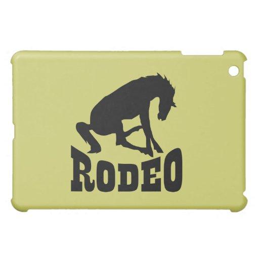 Rodeo Silhouette iPad Mini Covers