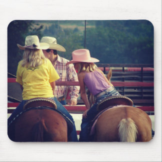 Rodeo Talk Mouse Pad