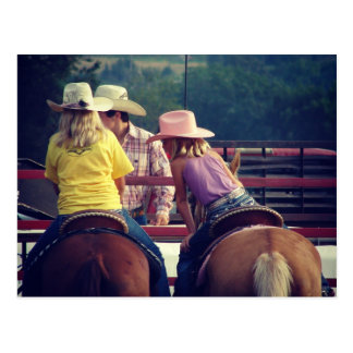 Rodeo Talk Postcard