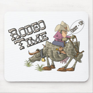 Rodeo Time Mouse Pad