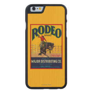 Rodeo Vegetable LabelSalinas, CA Carved® Maple iPhone 6 Case