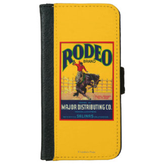 Rodeo Vegetable LabelSalinas, CA iPhone 6 Wallet Case
