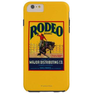 Rodeo Vegetable LabelSalinas, CA Tough iPhone 6 Plus Case