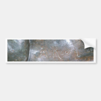 Rodin Signature Bumper Sticker