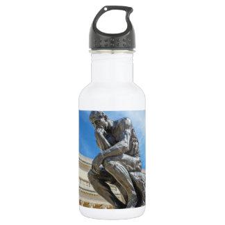 Rodin Thinker Statue 532 Ml Water Bottle