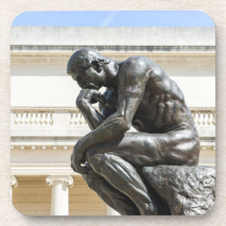 Rodin Thinker Statue Coaster