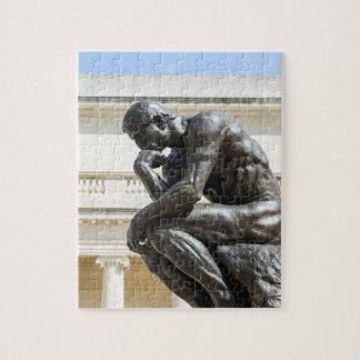 Rodin Thinker Statue Jigsaw Puzzle