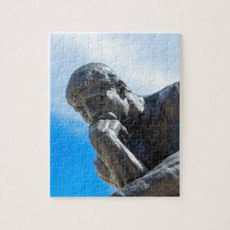Rodin Thinker Statue Puzzles