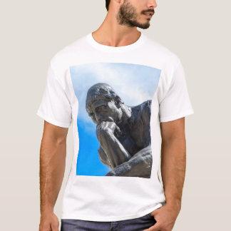 Rodin Thinker Statue T-Shirt