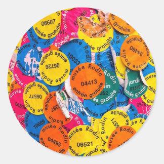 RodinPole.jpg Classic Round Sticker