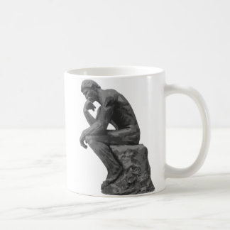 Rodin's Thinker Coffee Mug