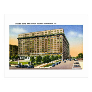 Rodney Square, Wilmington Delaware Postcard
