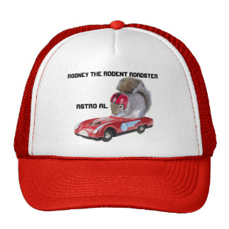 Rodney the rodent roadster the hat