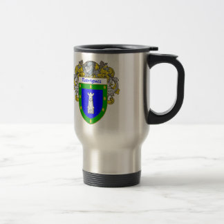 Rodriguez Coat of Arms/Family Crest Stainless Steel Travel Mug