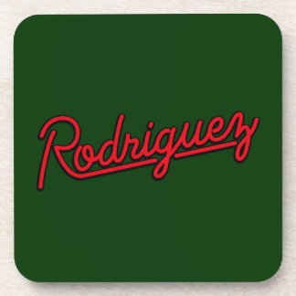 Rodriguez in red coasters
