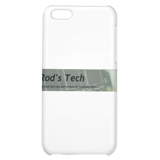 Rod's Tech iPhone 5C Cover