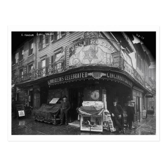 Roeber's Cafe Saloon, New York City Vintage Postcard