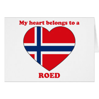 Roed Greeting Cards