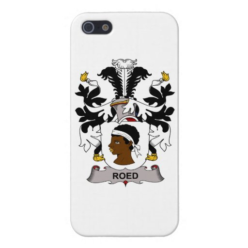 Roed Family Crest Covers For iPhone 5