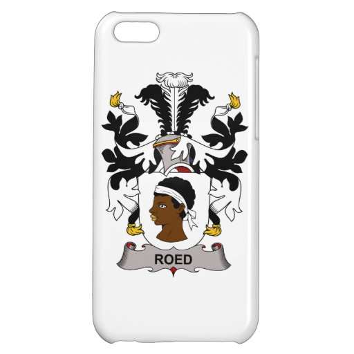 Roed Family Crest iPhone 5C Cases