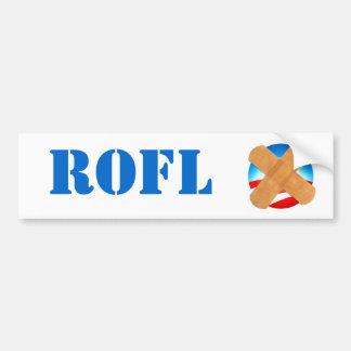 ROFL bumper sticker Car Bumper Sticker