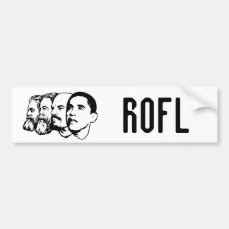 ROFL bumper sticker