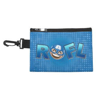 ROFL Captain America Emoji Accessory Bag