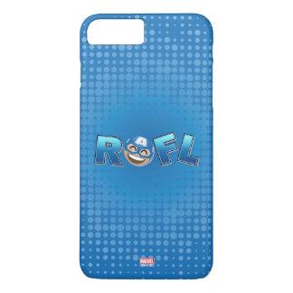 ROFL Captain America Emoji iPhone 8 Plus/7 Plus Case