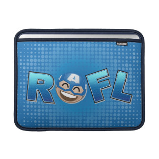 ROFL Captain America Emoji MacBook Sleeve