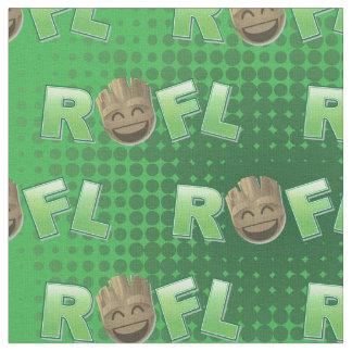 ROFL Groot Emoji Fabric