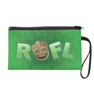 ROFL Groot Emoji Wristlet Clutches
