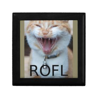 ROFL Laughing Kitty Cat Gift Box