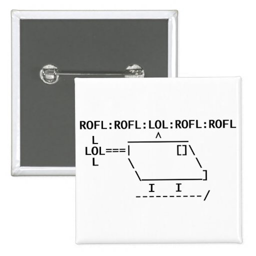 ROFLcopter Pinback Buttons