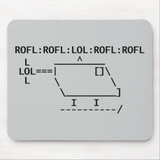 ROFLcopter Mouse Pad