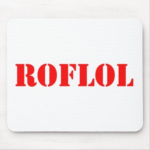 ROFLOL MOUSE PAD