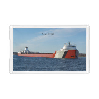 Roger Blough acrylic tray
