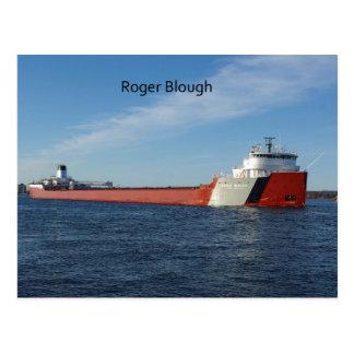 Roger Blough post card