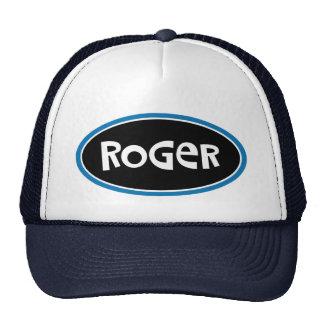 Roger Custom Name Design Cap