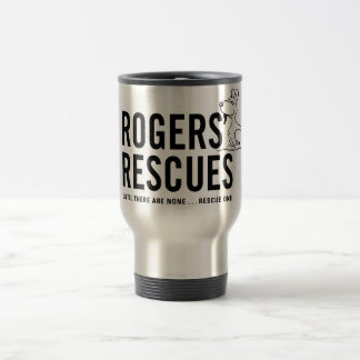 Rogers' Rescues Stainless Steel Travel Mug