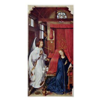 Rogier van der Weyden - The Annunciation Poster