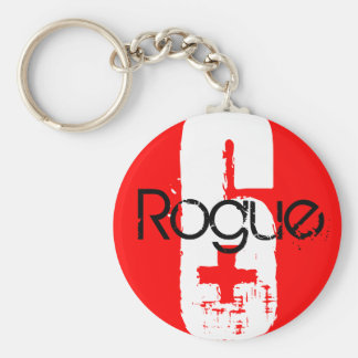 Rogue 6 + basic round button key ring