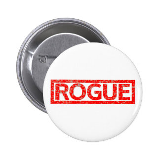 Rogue Stamp 6 Cm Round Badge