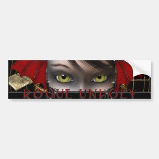Rogue Unholy logo bumper sticker